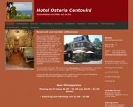 Bild Webseite Osteria Centovini Hotel Monti Antonio Köln