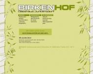 Bild Webseite Birkenhof Köln