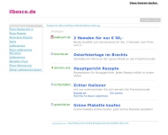 Bild Webseite Il Bocco Bistro München
