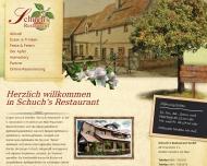 Bild Webseite Schuch's Restaurant Frankfurt