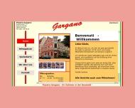 Bild Webseite Pizzeria Gargano Italienisches Restaurant Bremen