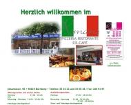 Bild Webseite Restaurante Romano Gastronomie Nürnberg