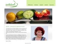 Bild Webseite Polidori vegetarische Küche Nürnberg