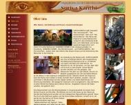 """Website Restaurant Suriya-Kanthi """"Der Sonnenschein"""""""