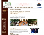 Bild Webseite Gaststätte Marienberg Nürnberg