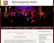 Bild Webseite Reichelsdorfer Keller Nürnberg