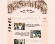 Website Gaststätte Café - Gartenlaube