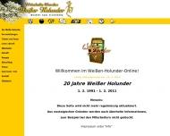 Bild Webseite Weißer Holunder Köln