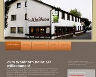 Bild Webseite Waldhorn Rheinau