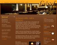 Bild Webseite Geissel Düsseldorf