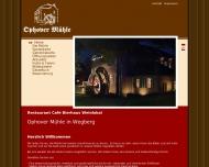 Bild Webseite Ophover Mühle Wegberg