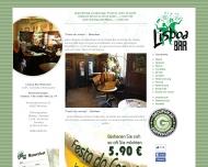 Bild Webseite LISSABON Gaststättenbetriebs München
