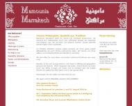 Bild Webseite Mamounia Marrakech München