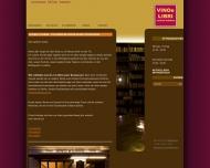 Bild Webseite Vino e Libri Berlin