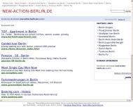 Bild Webseite Gaststätte Restaurant - New Action Berlin