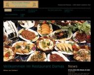 Bild Webseite Damas Bremen