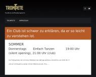 Bild Webseite Trompete Gaststättenbetriebsgesellschaft Berlin