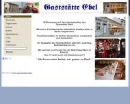 Bild Webseite Gaststätte Restaurant - Gaststätte Ebel Berlin