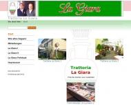 Bild Webseite Trattoria La Giara München