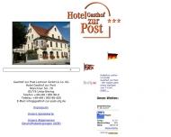 Gasthof zur Post - Traditionelles bayerisches Hotel