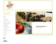 Bild Webseite Trattoria Mercatino Düsseldorf