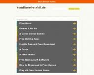 Bild Webseite Steidl Frank Konditorei u. Café Hamburg