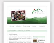 Bild Webseite Restaurant zum Koreaner Eckhardt München