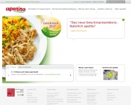 Bild Webseite Mobiles Restaurant apetito Mannheim