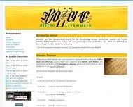 Bild Webseite Bistro La Boheme Hannover