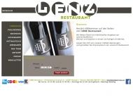Bild Webseite Lenz Restaurant Hamburg
