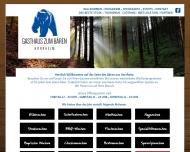Website Gasthaus zum Bären