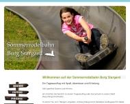 Bild Webseite  Burg Stargard