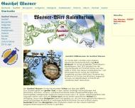 Bild Webseite Wasner Gasthof Bad Birnbach