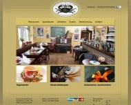 Bild Webseite Gaststätte Restaurant - King Creole Kastanienhof Frankfurt
