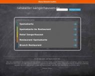 Bild Webseite  Sangerhausen