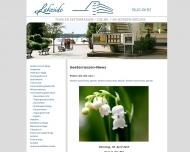 Bild Webseite Gaststätte Restaurant - Tegeler-Seeterrassen Berlin