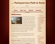 Bild Webseite Gaststätte Restaurant - Pott + Pann Berlin