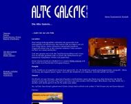 Website Alte Galerie Diskothek