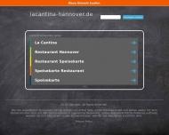 Bild Webseite la cantina essen & trinken Hannover