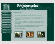Bild Webseite Gaststätte Restaurant - Vier Jahreszeiten Hannover