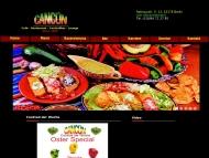 Bild Webseite Cancun Restaurant Berlin