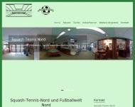 Bild Webseite Squash-Tennis Nord Schlehuber Berlin