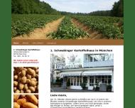 Bild Webseite Erstes Schwabinger Kartoffelhaus München