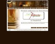 Bild Webseite Gasthaus Kohlbrecher Osnabrück