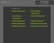 Bild Webseite Restaurant Dionis Hannover