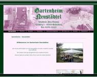 Bild Gartenheim Neustädtel