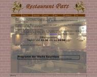 Bild Webseite Pars Restaurant München