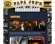 Website Klimperkasten Papa Joe's Biersalon