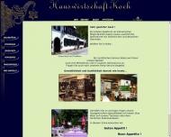Website Gaststätte Restaurant - Koch Bräu Hauswirtschaft