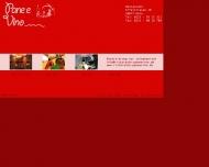 Bild Webseite Pane e vino Köln